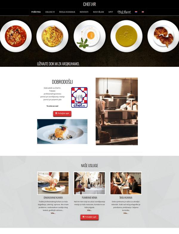 Chef.hr portfolio - Studio Zona Split