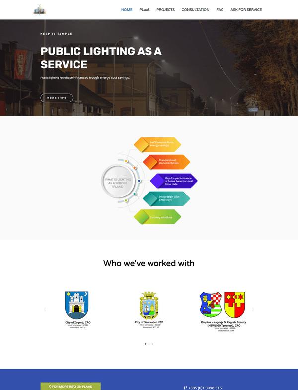 Public lighting as a service portfolio - Studio Zona Split
