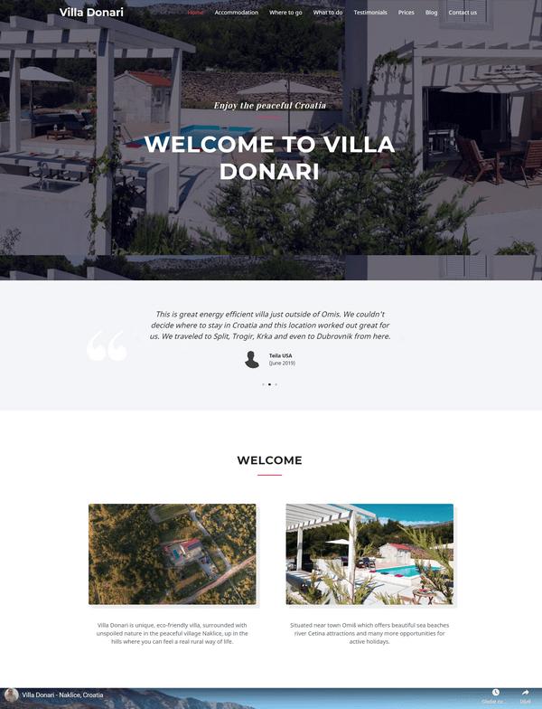 Villa Donari portfolio - Studio Zona Split