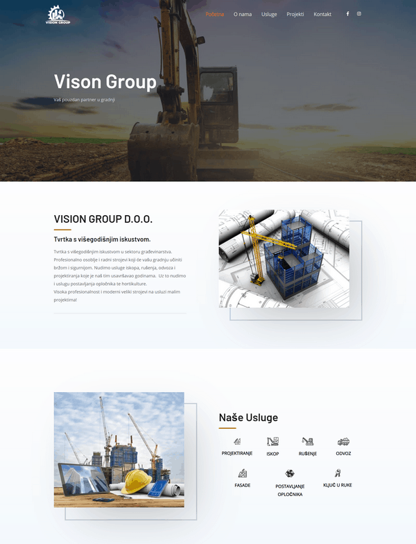 Vision Group d.o.o. portfolio - Studio Zona Split
