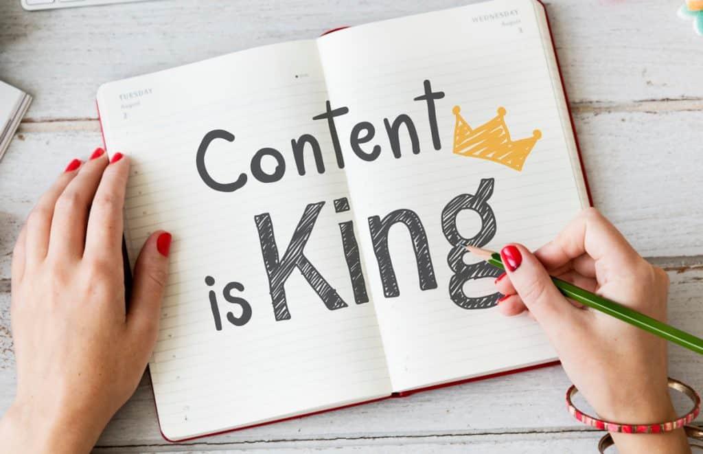 Sadržaj je kralj, a mi ga stvaramo za vas
